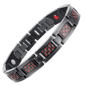 BLASS 4 in 1 element stainless steel magnetic bracelet