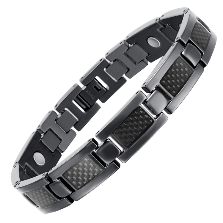 BLASS full magnets stainless steel magnetic bracelet