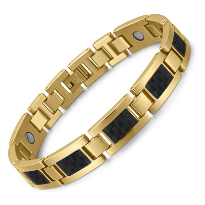 Golss 4 in 1 element stainless steel magnetic bracelet