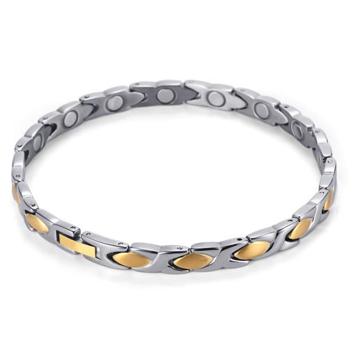 Healthcare women sport germanium magnetic bracelet