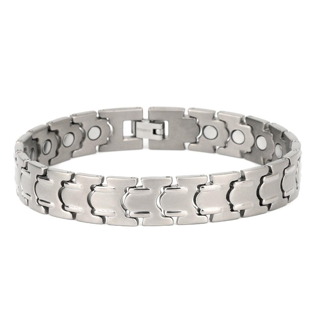 Men titanium arthritis magnet bracelet