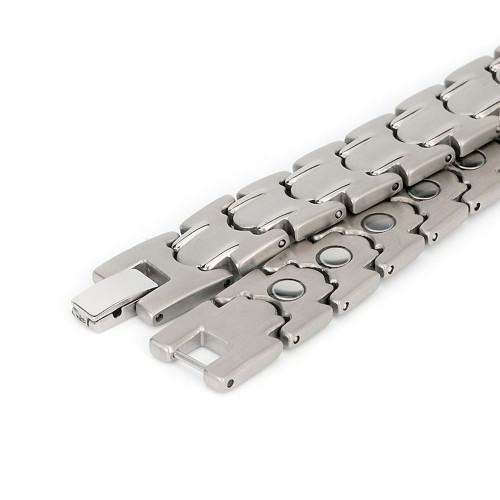 Full magnets men titanium magnetic bracelet health