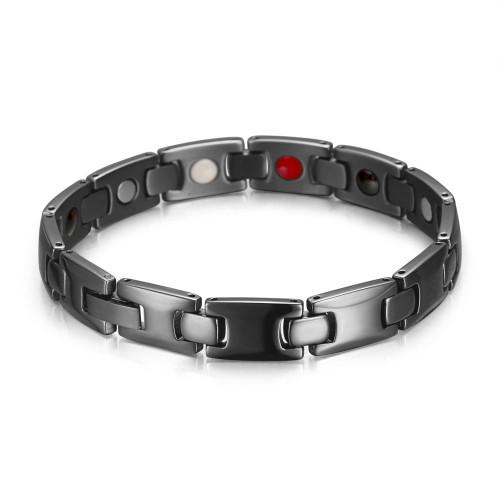Wholesale men magnetic pure titanium bracelet