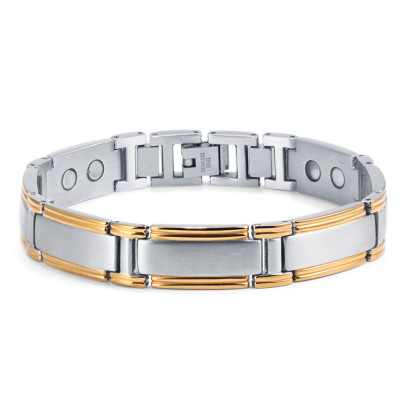 wholesale men titanium magnetic therapy bracelet