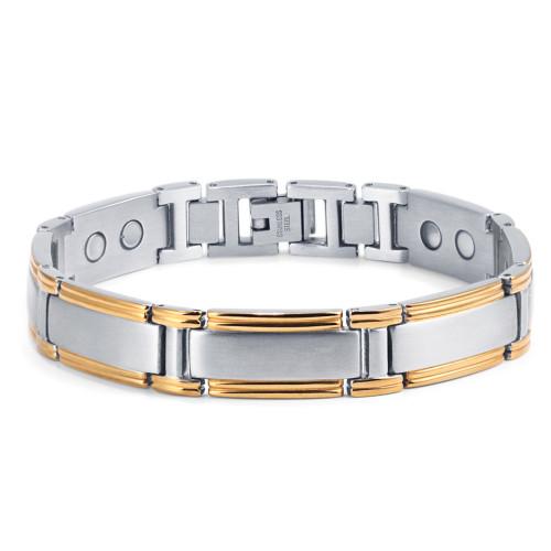 wholesale men titanium magnetic therapy bracelet