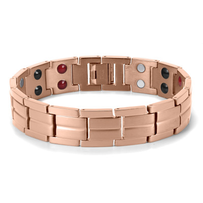 High quality man bio health magnetic titanium therapy bracelet