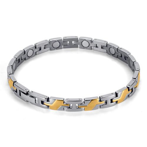 Wholesale Special Pattern women magnetic therapy titanium bracelets
