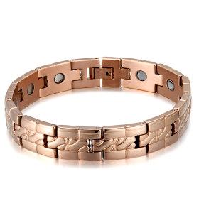 Sport men power energy balance titanium magnetic bracelet