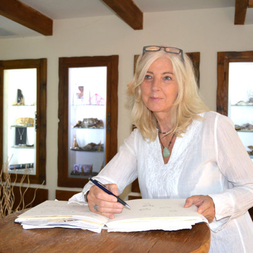 Fitanole Jewelry Designer Annette Hanekamp.