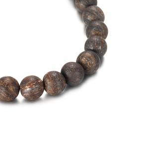 8mm Bronzite Beads Bracelet With Accessory