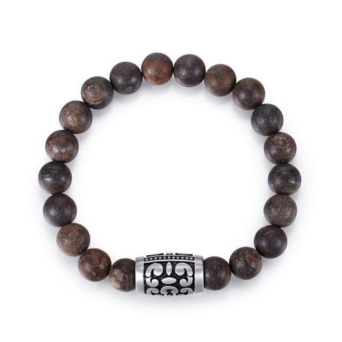 Men's Jasper Beaded Bracelet