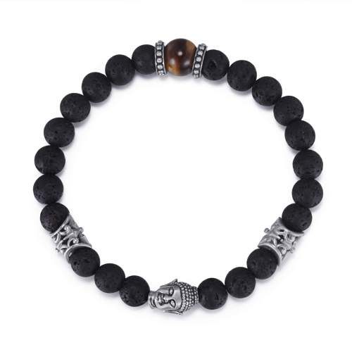 Men's Buddha Beaded Bracelet