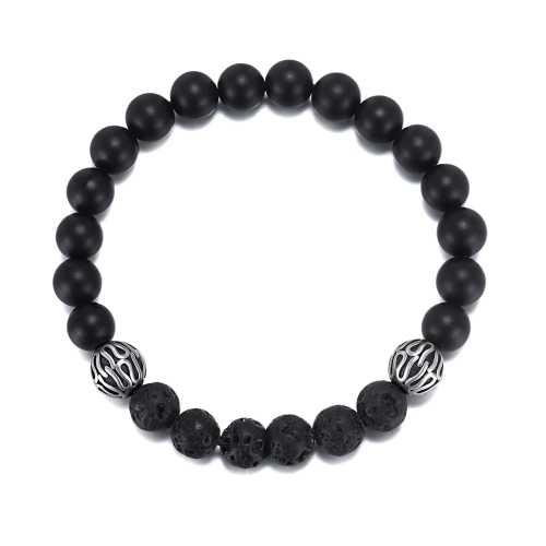 Men's Tiger Eye Beads Bracelet