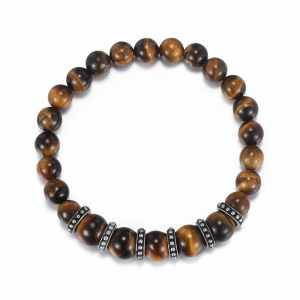 Tiger Eye | Agate Beads Bracelet