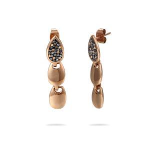 CZ Tassel Earrings