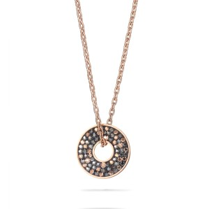 Women's Round Pendant Necklace