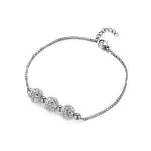 Crystal Bead Bracelet