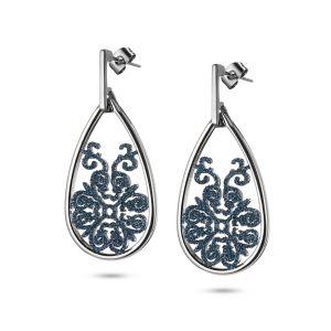 Vintage Silver Dangle Earrings