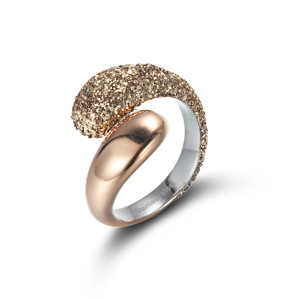 Gold Wound Ring
