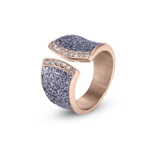 Rose Gold CZ Ring