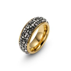 Gold CZ Ring