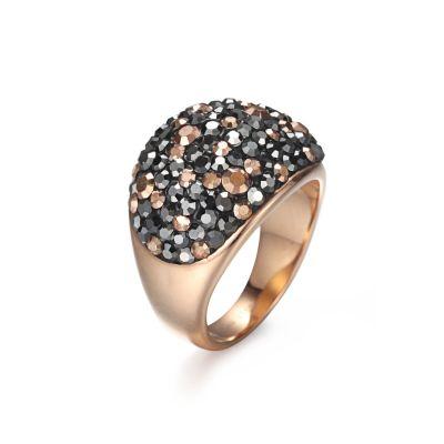 CZ Steel Ring