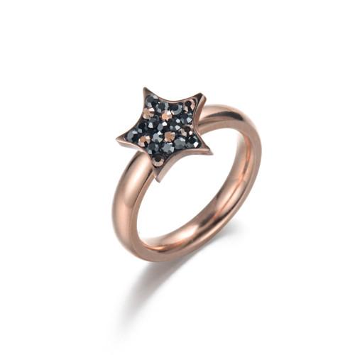Star CZ Ring