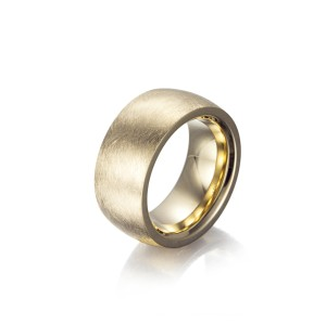 Matt Gold Band Rings