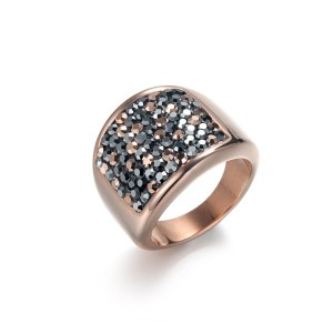 Shiny CZ Wide Ring
