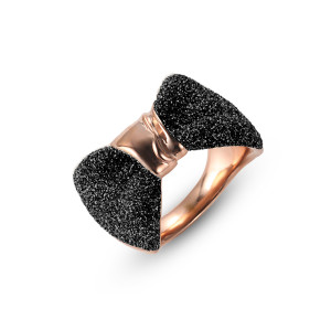 Black Bow Women Rings