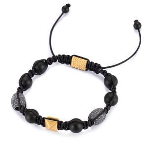 Agate Woven Bracelet