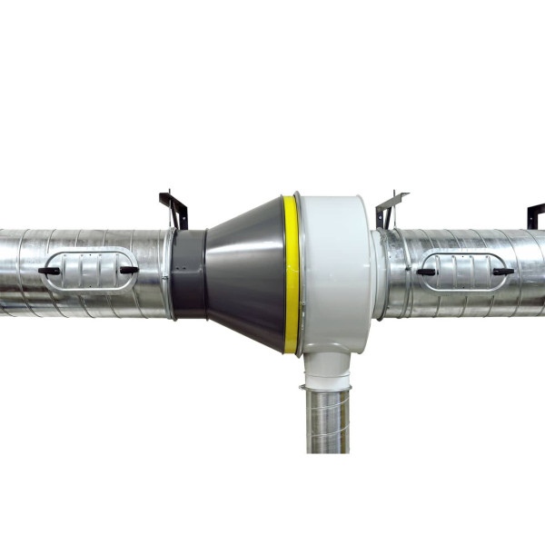 Centrifugal Spark arrestors for dust collection