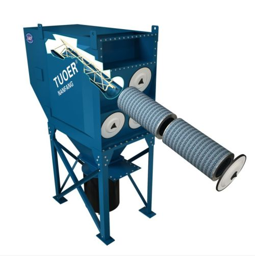Central Downflow Cartridge Dust Collector