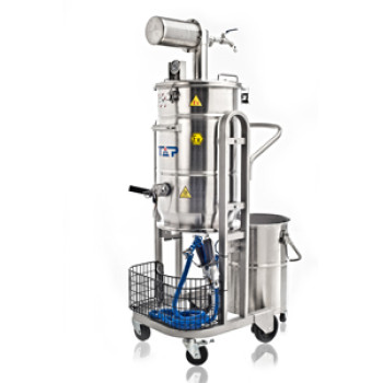 Pneumatic(Air Operated) Vacuum Cleaner-Dry Recovery