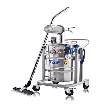 Pneumatic(Air Operated) Vacuum Cleaner-Wet&Dry Recovery