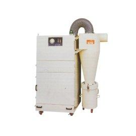 Colector de polvo serie secundaria / ciclón / cartucho Colector de polvo 2 en 1 unidad