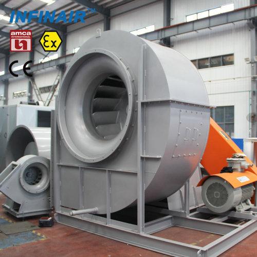 انخفاض ضغط مروحة الطرد المركزي الصناعية / مباشر / حزام / محوري