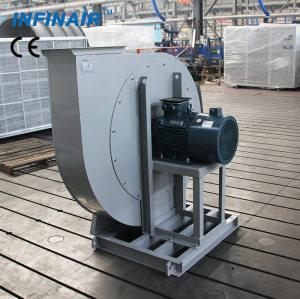 Soplador centrífugo industrial de súper alta presión / Tipo de rueda
