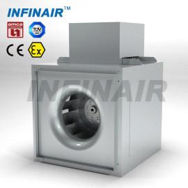 Ventilador en línea centrífugo para ventilación HVAC con certificados AMCA / TUV / CE / ATEX