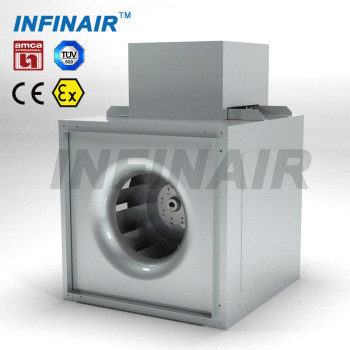 Centrifugal Inline Fan for HVAC Ventilation with AMCA/TUV/CE/ATEX Certificates