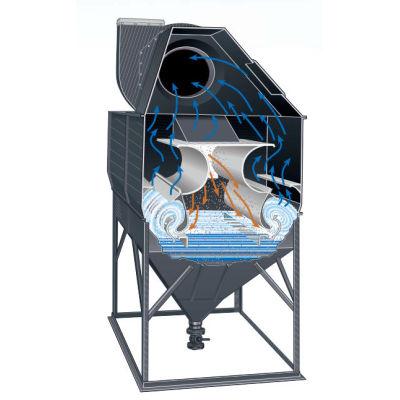 جامع الغبار الرطب الصناعي ، الشركة المصنعة للغسيل الرطب