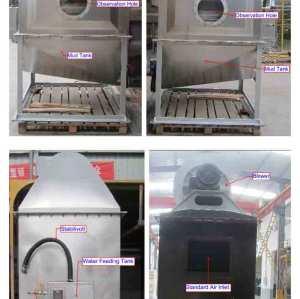 Coletor de pó industrial do purificador molhado, fabricante do purificador molhado