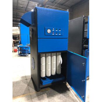 Unidad de colector de polvo industrial tipo cartucho para eliminación de polvo-Extractor de polvo de alta eficiencia