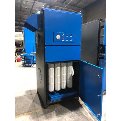وحدة جامع الغبار الصناعي من نوع الخرطوشة لنازع الغبار ذو الكفاءة العالية لإزالة الغبار