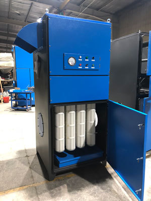 Cartridge Type Industrial Dust Collector Unit for Dust Removal-High Efficiency Dust Extractor