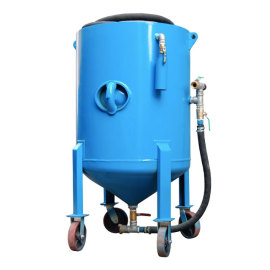 150L High Pressure Mobile Sandblasting Machine/Portable Sandblaster for Sale