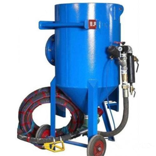 150L ارتفاع ضغط المحمول آلة السفع الرملي / المحمولة Sandblaster للبيع
