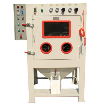 Medium Size Workpieces Tumble blasting machine/Rotary Sandblaster Sanblasting Equipment