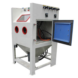 4 in 1 Intelligent Multi functional Industrial Sandblasting Cabinet