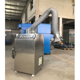 Unidade móvel portátil de extração de emanações de alta pressão para soldagem, corte térmico, queima